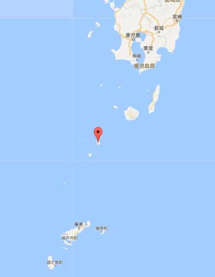 鹿児島の大雨(十島村)場所.PNG